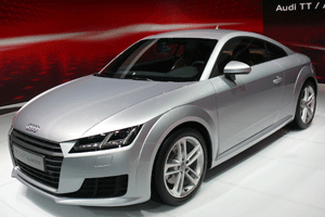 audi tt coupe 2 0 tsi quattro s tronic automatik modell. Black Bedroom Furniture Sets. Home Design Ideas