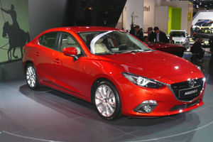 Mazda 3 Center Line neues Modell 2017