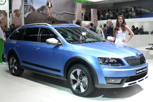 skoda octavia scout 2 0 tdi green tec 4x4 neues modell 2015. Black Bedroom Furniture Sets. Home Design Ideas