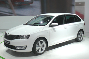 Skoda Rapid Spaceback 1.2 TSI Green tec Style Plus