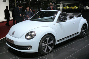 VW Beetle Cabrio Cup 1.2 TSI BlueMotion Neu 2014