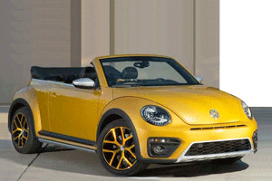 VW Beetle Cabrio Sound